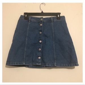 Divided H&M Jean Skirt